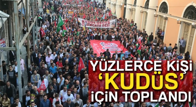 ABD ve İsrail protestosu