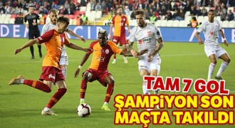 Sivasspor: 4-3 Galatasaray